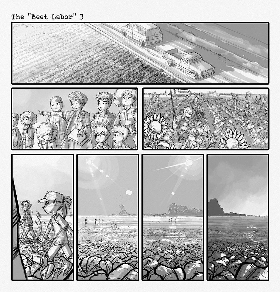 "The ""Beet Labor"" 3"