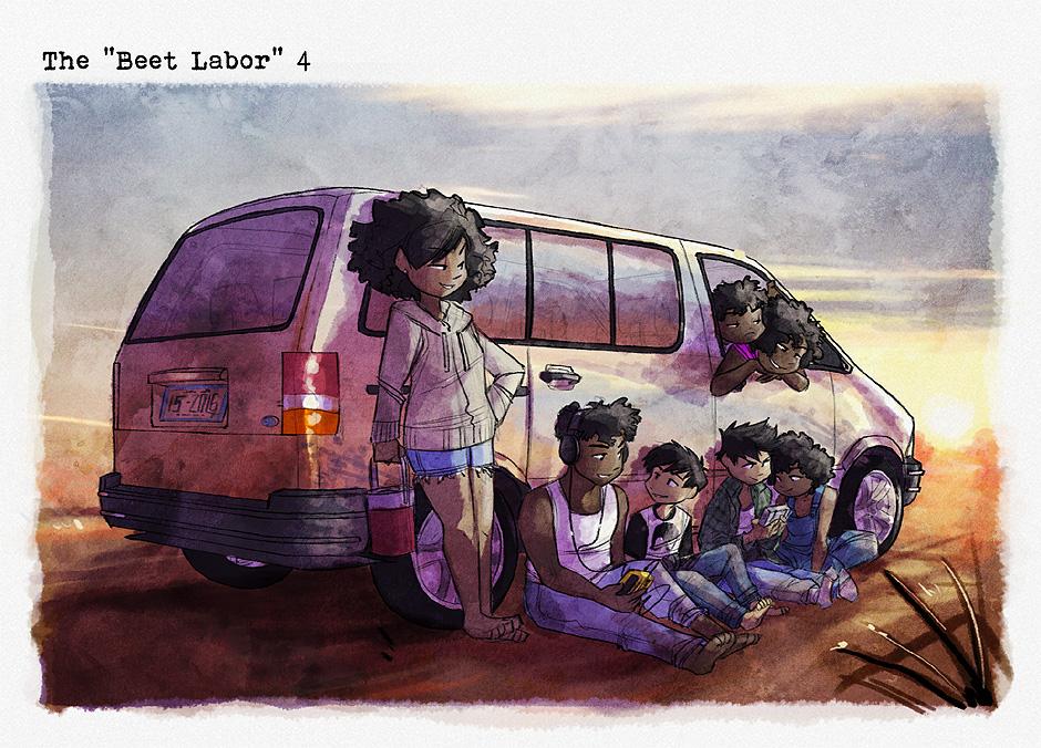 "The ""Beet Labor"" 4"